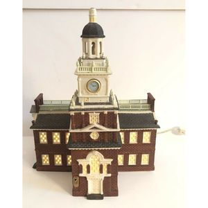 Dept. 56 Independence Hall 1998 Historical